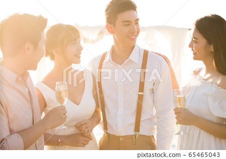 浪漫度假婚禮 65465043