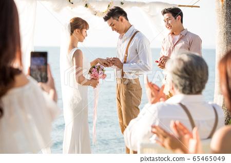 로맨틱 한 리조트 웨딩 65465049