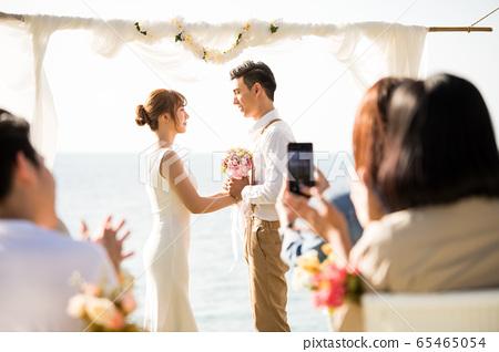 로맨틱 한 리조트 웨딩 65465054