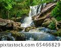 Waterfall landscape 65466829