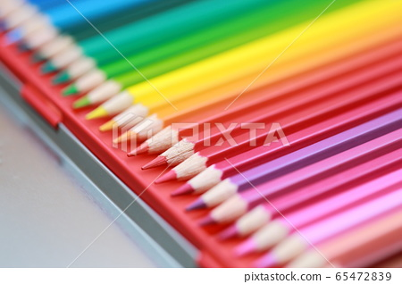 彩色的鉛筆(鉛筆文具愛好藝術教育藝術教育學習漸變副本空間) 65472839