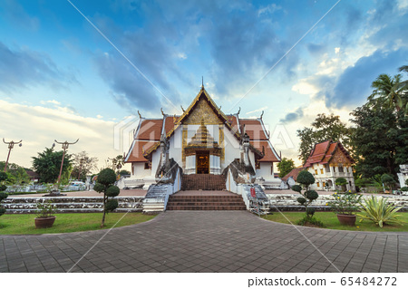 Wat Phumin is a unique thai traditional Temple of 65484272