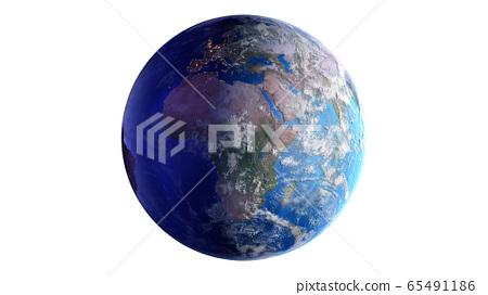 지구 우주 태양 공간 세계 월드 글로벌 3D 일러스트 배경 배경 65491186