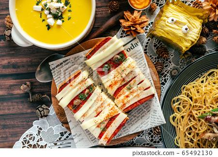 萬聖節食品飯 65492130