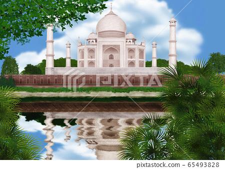 泰姬陵的插圖 65493828