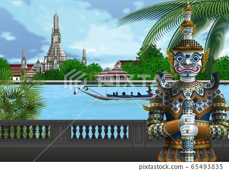 泰國鄭王廟圖 65493835