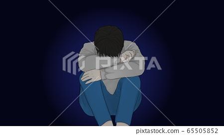 우울한 소년 65505852