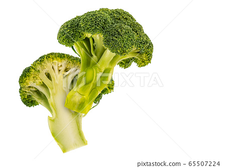 Broccoli floating in the air. 65507224