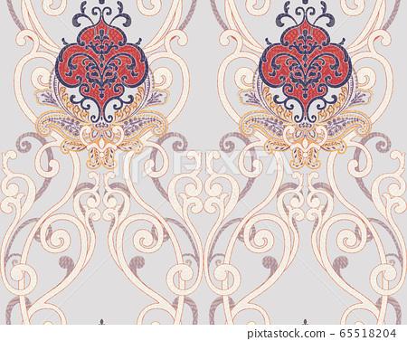 Abstract beauty Kyoko, Tomoe Rakukatsu, Rakukaki, reconstructed, humorous, beauty element, inconsistent pattern, printing 65518204