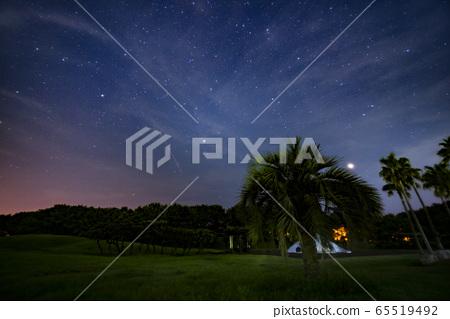 Perseid meteor shower 65519492