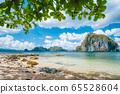 El Nido, Palawan, Philippines. Nature scenery of Pinagbuyutan island and beautiful tropical seascape 65528604
