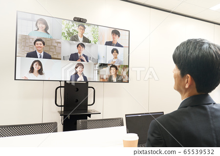 在線會議在線會議圖像 65539532
