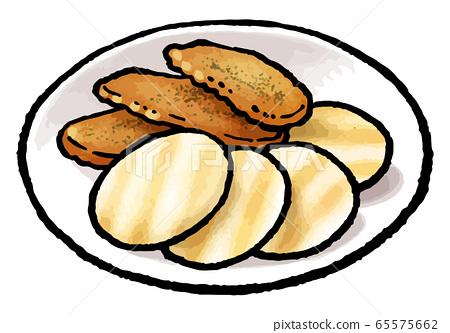 Rice cracker 65575662