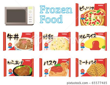 Frozen food set 65577485