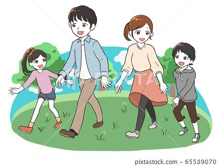 家庭漫步(公園) 65589070