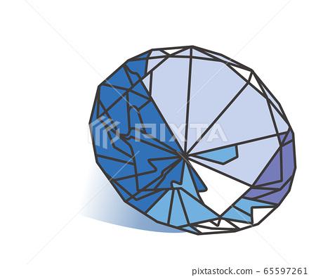 藍寶石首飾 65597261
