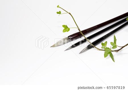 Brush, calligraphy brush 65597819