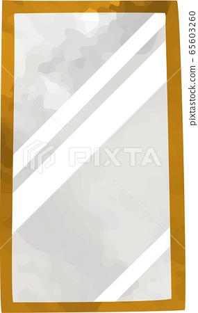 수공 전신 거울 아이콘 (수채화 풍) 65603260