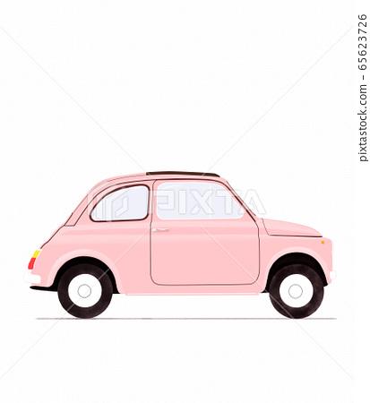 illustration of vintage car 65623726
