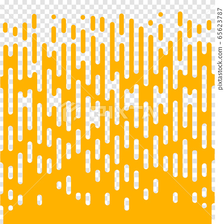 Line transition pattern background, abstract irregular geometric texture. Vector yellow white color halftone line pattern background. Abstract concept . Vector illusration 65623787