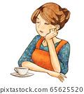 Thinking woman 65625520