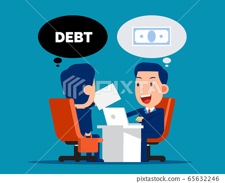 Business loan agreement. Money and Currency 65632246
