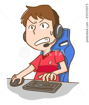 e 스포츠 게임 TV 게임 비디오 게임 남성 65650973