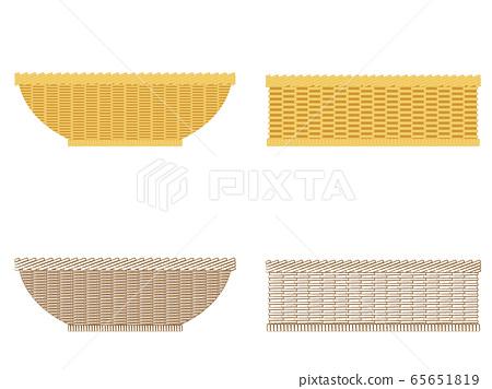Basket illustration material 65651819