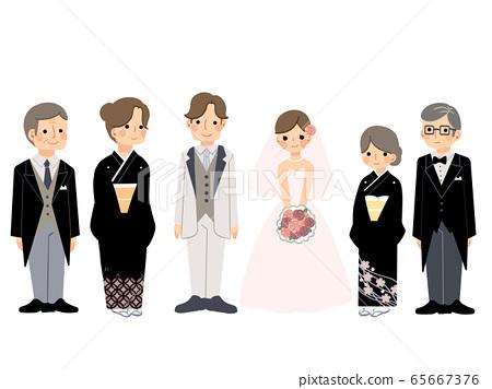 婚禮家庭 65667376