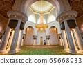 Sheikh Zayed Grand Mosque interior 65668933