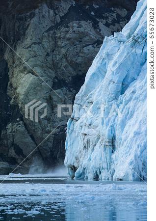 美國阿拉斯加,冰川,氷河、アラスカ、米国,Glacier, Alaska, USA 65673028