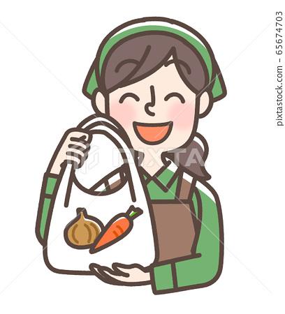 店員女超市 65674703