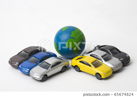 Earth and cars 65674824