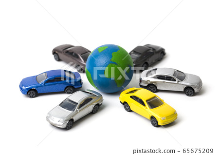 Earth and cars 65675209