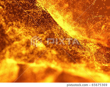 Hot Volcanic Magma, Lava Background 65675369