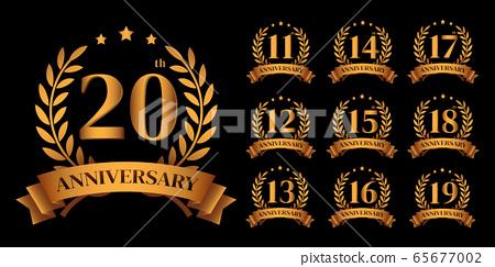 golden anniversary logo 65677002