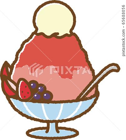 刨冰(草莓) 65688056