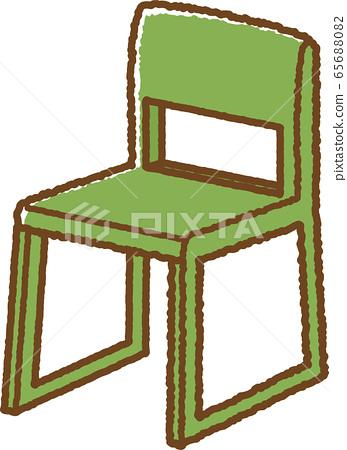 의자 (플라스틱) 65688082