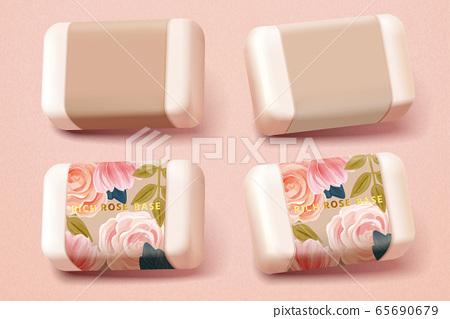 Set of handmade soap 65690679