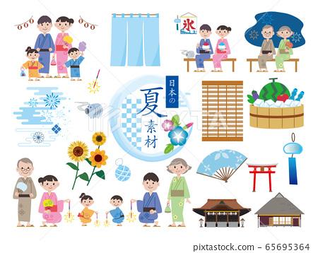 日本夏季材料套裝 65695364