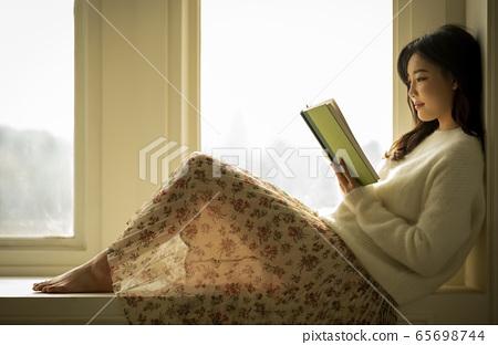 女人,休息,生活方式 65698744