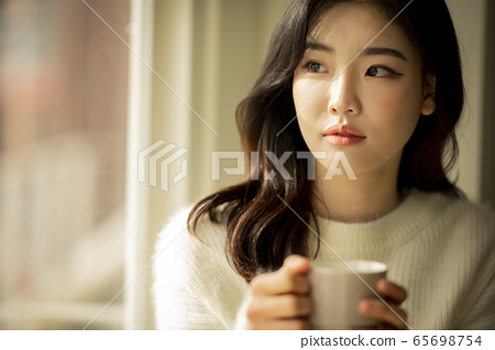 女人,休息,生活方式 65698754