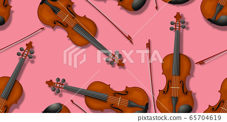 Violin pattern 65704619