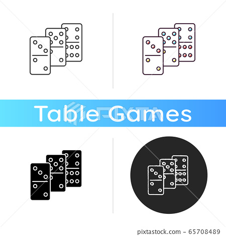 Dominoes icon 65708489