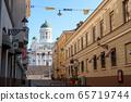 赫尔辛基的街道 65719744