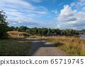 芬兰堡岛路和天空 65719745