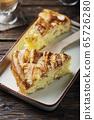 Rustic apple pie 65726280