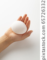 Gently holding an egg with one hand-Future-Growth-Life 65726332