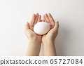 Hold eggs with both hands-Important-Protect-Deliver 65727084
