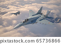 Military fighter aircraft Mig 29. 65736866